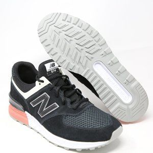 New Balance 574 NB574 MS574STK Black Peach Running